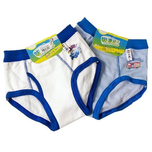 LOVIN BABY台灣製一王美舒適吸溼排汗男童內褲~6件