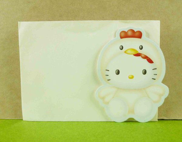 【震撼精品百貨】Hello Kitty 凱蒂貓~生肖卡片-雞