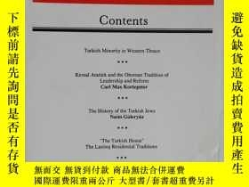 二手書博民逛書店英文原版罕見TURKISH REVIEW QUARTERLY D