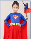 兒童小女超人肌肉美國隊長萬聖節服裝聖誕節變裝派對變裝服鋼鐵超蜘蛛人超級瑪麗服裝超級瑪莉