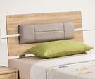 【森可家居】多莉絲3.5尺皮面床片 7ZX122-6 單人 床頭片 木紋質感 無印風 北歐風