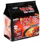 【麻吉熊】韓國Paldo 八道御膳火辣章魚風味乾拌麵130g*4入 韓國泡麵