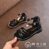 2018夏季新款韓版女童羅馬涼鞋高幫兒童沙灘鞋平底小公主寶寶鞋子