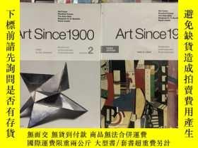 二手書博民逛書店Art罕見Since 1900 (Third Edition),1900年以來的藝術,全2卷(英文原版, )Y