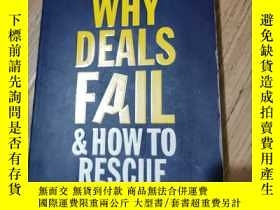 二手書博民逛書店why罕見deals fail how to rescue th