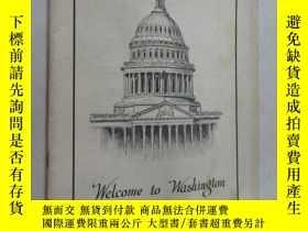 二手書博民逛書店英文罕見WELCOME TO WASHINGTON 共41頁Y1