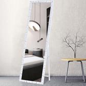 全身鏡子落地鏡家用穿衣鏡試衣鏡立體臥室宿舍服裝店壁掛歐式