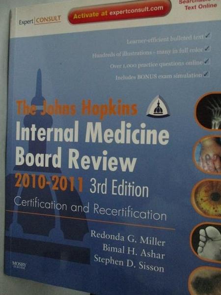 【書寶二手書T3/大學理工醫_ZIIG】The Johns Hopkins Internal Medicine Boar