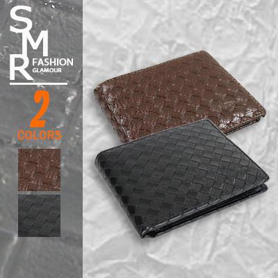 皮編型皮夾-型男必備款《792B007-1 》黑色.咖啡色【現貨+預購】『SMR』