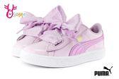 puma basket heart stars 女童緞帶鞋 經典 漆皮 休閒運動鞋 中童鞋J9512#紫色◆OSOME奧森鞋業