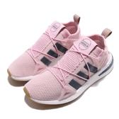 adidas 慢跑鞋 ARKYN W 粉紅 深藍 襪套式 BOOST 運動鞋 女鞋 【PUMP306】 CG6224
