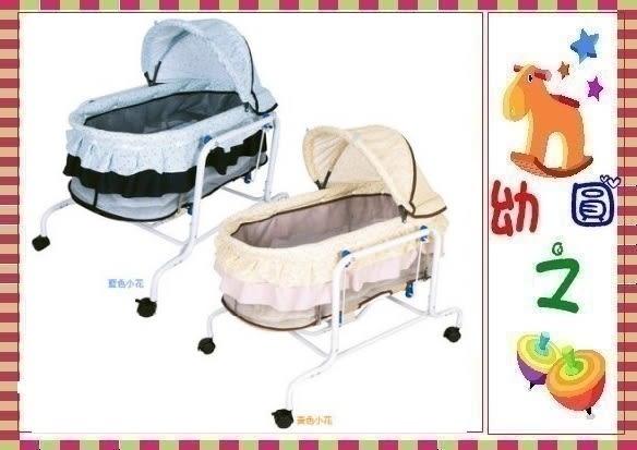 *幼之圓*台灣製造嬰兒電動水平搖床**附蚊帳**平穩舒適