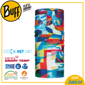 【BUFF 西班牙 青少年 Coolnet 抗UV頭巾 意象拼接】120088/圍脖/帽子/口罩/圍巾/吸溼排汗