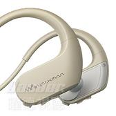 預購【曜德 買一送三】SONY NW-WS413 象牙白 4GB 防水極限運動數位隨身聽 / 送收納盒+耳塞+絨布袋