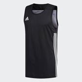 Adidas SPEED REVERSIBLE JERSEY黑色白色雙面穿運動背心-NO.DX6385