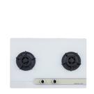 (無安裝)櫻花雙口檯面爐白色(與G-2623GW同款)瓦斯爐天然氣G-2623GWN-X