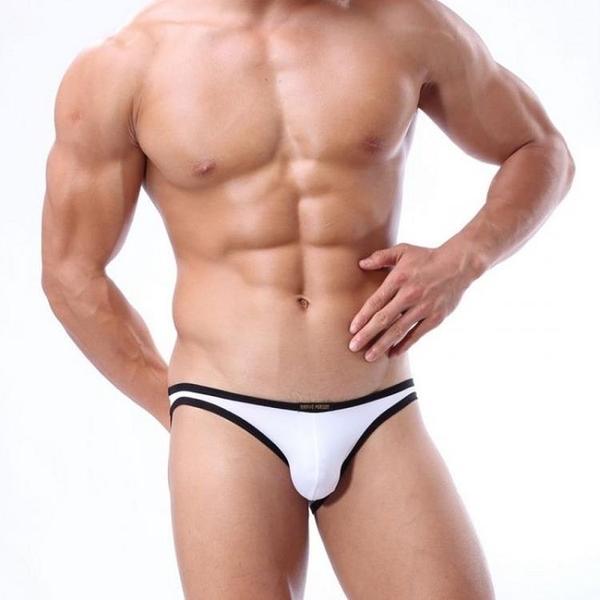 全場九折 男士內褲代發 BRAVE PERSON 窄邊U凸囊袋性感三角內褲 BR1119