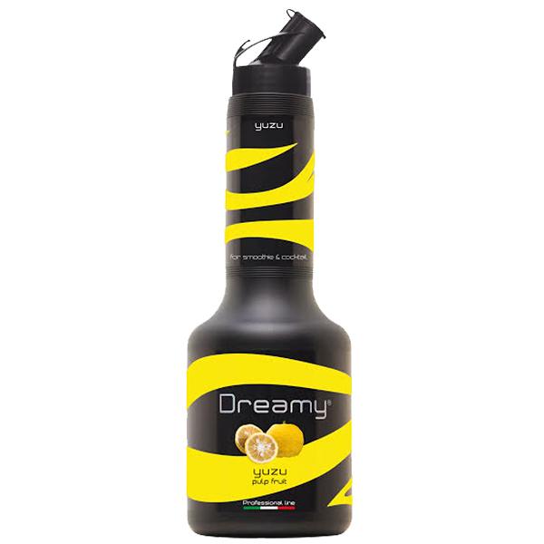 義大利 Dreamy 柚子 鮮果漿 果漿 果泥 Yuzu 950ml/瓶-【良鎂咖啡精品館】