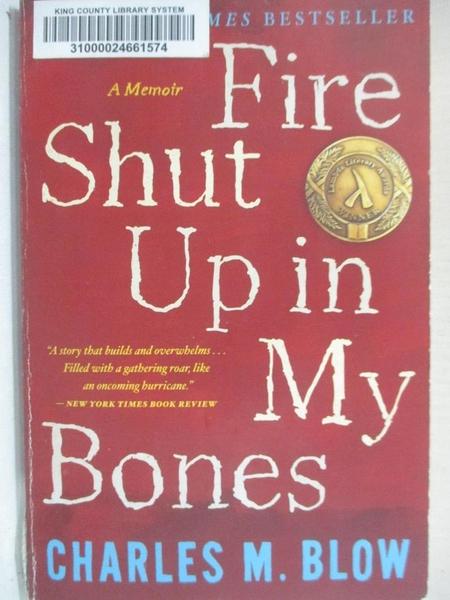 【書寶二手書T1/原文小說_B2Z】Fire Shut Up in My Bones_Blow, Charles M.