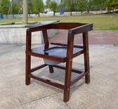【新年鉅惠】實木坐便椅老人座便器孕婦方便椅移動馬桶扶手廁所椅大便椅坐廁凳