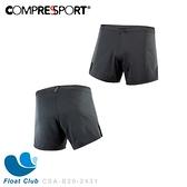 【Compressport瑞士】2020 黑系列 跑步短褲 CSA-B20-2431 原價2400元