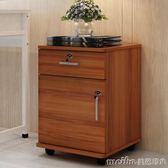 簡易床頭櫃簡約現代床櫃收納小櫃子組裝儲物櫃宿舍臥室組裝床邊櫃igo 美芭