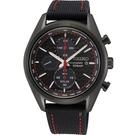 SEIKO 精工 太陽能 計時賽車腕錶 V176-0BH0C (SSC777P1)