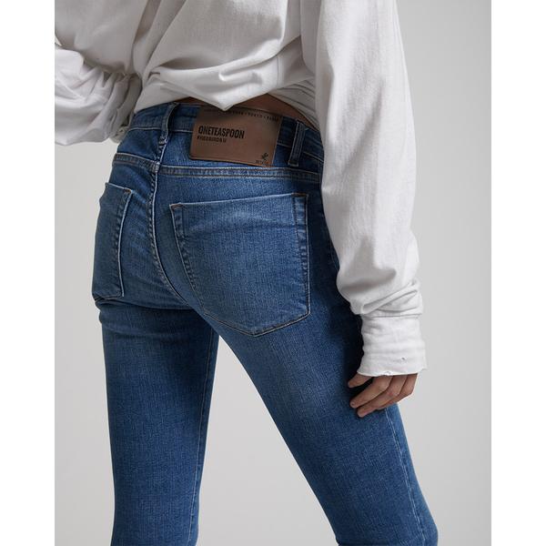 OneTeaspoon 牛仔褲 BLUE CASH FREEBIRDS - 女 (藍)