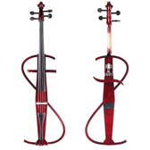 ★JYC Music★JYC CV-110 靜音大提琴(紅)~預購