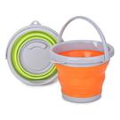 【GE115A】折疊水桶-小 21.8cm便攜式水桶3L 折疊水盆 摺疊水桶 泡腳桶 EZGO商城