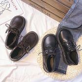 日系軟妹ins小皮鞋女英倫學院風復古森系大頭娃娃鞋2019新款單鞋 米娜小鋪