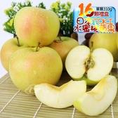 果之家 日本TOKI土崎多汁水蜜桃蘋果16顆入5KG(單顆約310g)