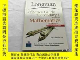 二手書博民逛書店longman罕見effective guide to secondary 1Y8204 longman ef