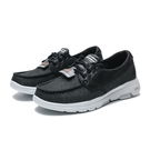 SKECHERS GO WALK 5 黑白 休閒 帆船鞋 男 (布魯克林) 55502BKW