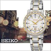 【僾瑪精品】SEIKO Premier 珍愛羅馬真鑽女用腕錶-銀x雙色/28mm/7N82-0JJ0S(SXDG58J1)