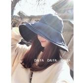遮陽帽女防曬紫外線大檐帽子