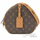 Louis Vuitton LV M52294 BOITE CHAPEAU SOUPLE 經典花紋圓餅包  全新 現貨【茱麗葉精品】