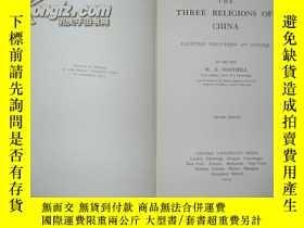 二手書博民逛書店1923年版罕見中國三大宗教 Three Religious o