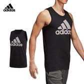 Adidas Mesh Bos 男 黑 背心 運動背心 無袖 短T 棉T 短袖 籃球 慢跑 健身 愛迪達 上衣 CV4529