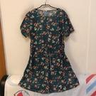 韓版顯瘦修身基本款短袖洋裝(M-3XL號/222-7190)