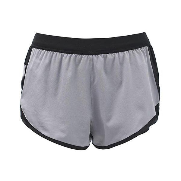 卡卡防走光運動短褲女寬鬆跑步速干訓練假兩件健身運動熱褲【潮咖地帶】