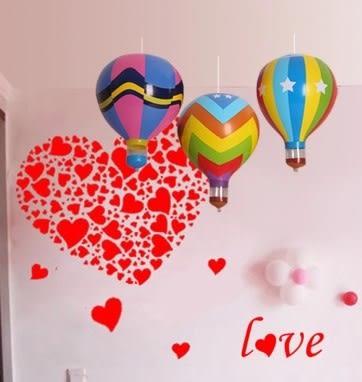 [協貿國際]  仿真熱氣球兒童玩具節慶年會活動道具 (2入)