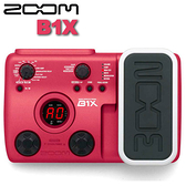 【非凡樂器】ZOOM B1X 電貝斯綜合效果器 / 贈變壓器&導線 公司貨保固