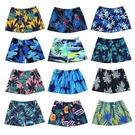泳褲 男士泳褲2021新款數碼印花沙灘游泳館泡溫泉成人寬鬆游泳短褲