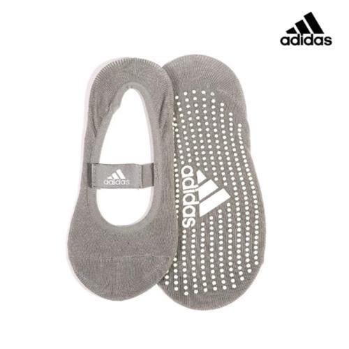 愛迪達Adidas  防滑吸汗瑜珈襪ADYG-30102GR-灰(24-26cm)【愛買】