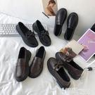 皮鞋 一腳蹬小皮鞋女英倫風復古配裙子2021年新款韓版學生百搭日系jk鞋 【99免運】