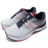 New Balance 慢跑鞋 NB 880 灰 橘 輕量包覆鞋面 緩震中底 運動鞋 女鞋【PUMP306】 W880GP8D