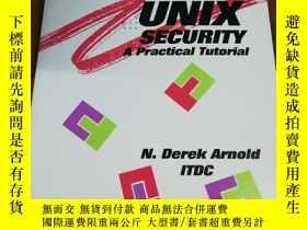 二手書博民逛書店Unix罕見Security: A Practical Tuto