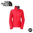 【The North Face 女 800FP FILL抗水羽絨外套《紅》】A2V6/保暖外套/防潑水/輕量羽絨
