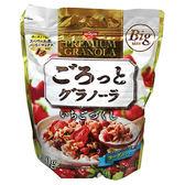 日清大袋草莓麥片500g【愛買】